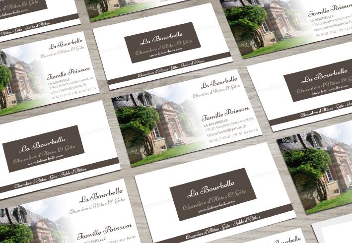 Le Domaine De La Bourbelle Est Un Gite Situe A Neufmoutiers En Brie 77 OCTAVE Pris Charge Realisation Ses Cartes Visite