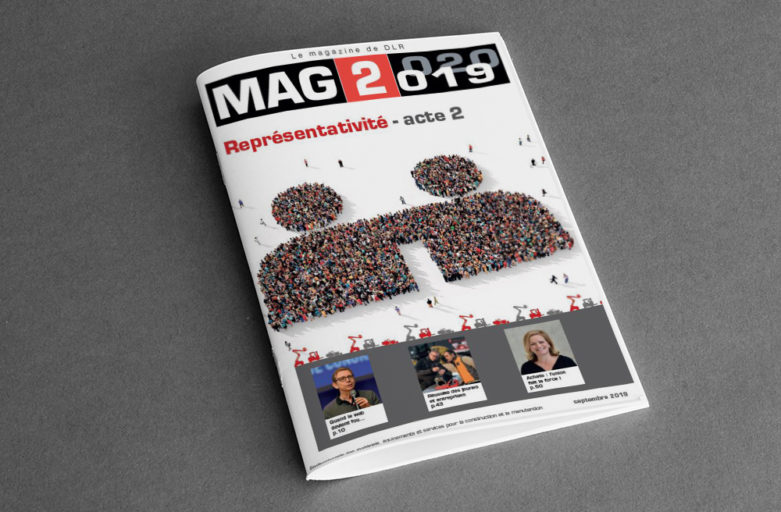 Création et parution d'un magazine annuel pour une fédération
