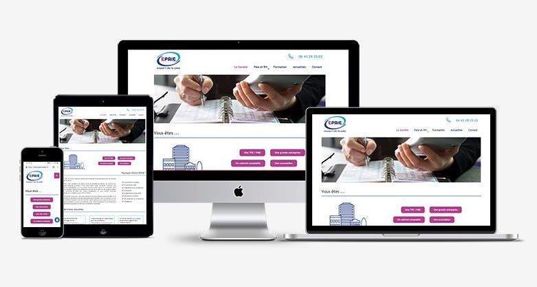 Site web pour un expert de la paie